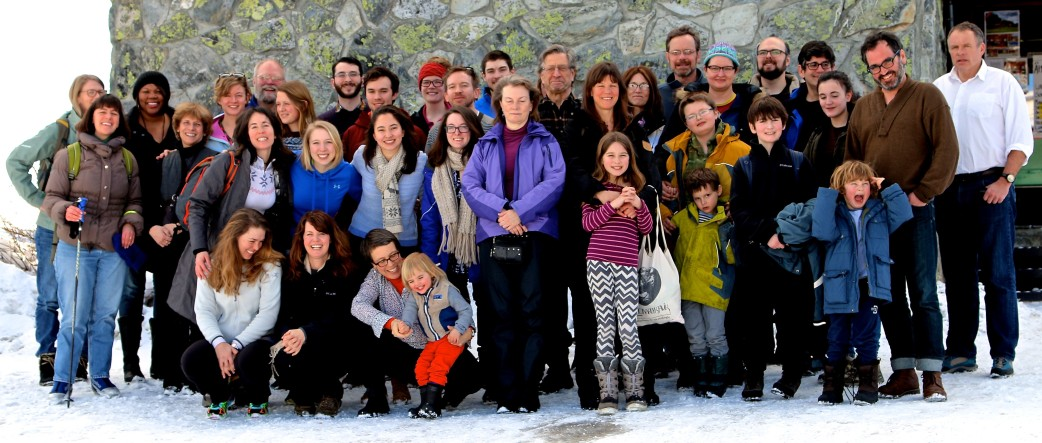 Ski Trip Group Shot